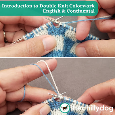 Introduction to Double Knitting Tutorial: Learn how to double knit English style and continental style