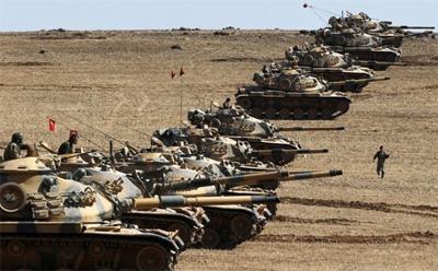 Turkish military says killed 65 Islamic State militants in Syria