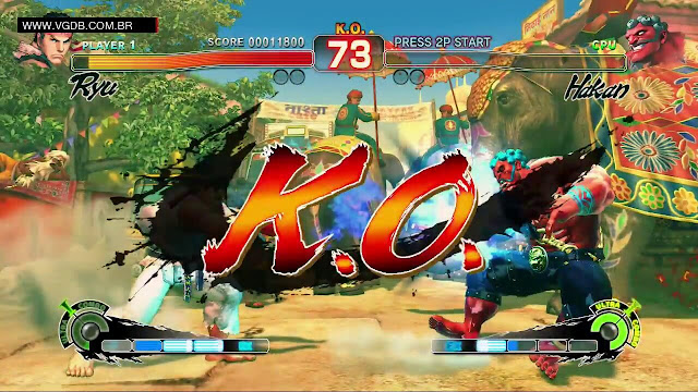 تحميل لعبة سوبر ستريت فايتر 4 Super Street Fighter IV بدون تسطيب