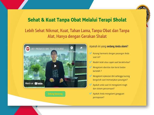 Belajar Terapi Gerakan Sholat untuk Kesehatan Alat Vital di Bandung