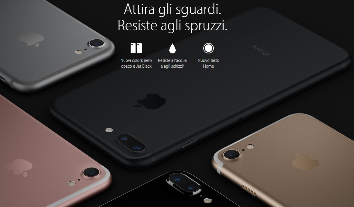 iPhone 7 disponibile dal 16 Settembre (anche in Italia) da 799 euro | Video 2