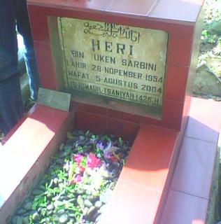 Makam Papah di Cieunteung, Tasikmalaya