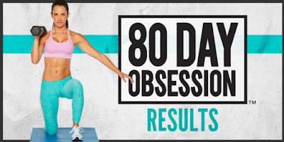 80 day obsession, shred fat, lose weight, eat clean, results, 21 day fix, meal plan