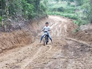 Program TMMD ke-109,  Akses Jalan Penghubung Desa Sihastoruan - Desa Marpadan, Tarabintang Kini Bisa Digunakan