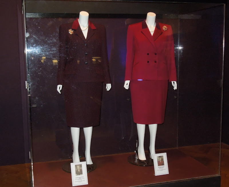 Iron Lady Meryl Streep movie costumes