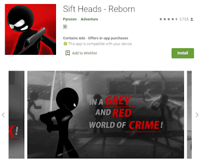 game sift heads android