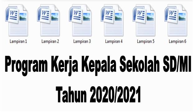 Program Kerja Kepala Sekolah SD/MI Tahun 2020/2021 - Guru Krebet 3