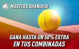 sportium promo Masters Shanghai 5-13 octubre 2019