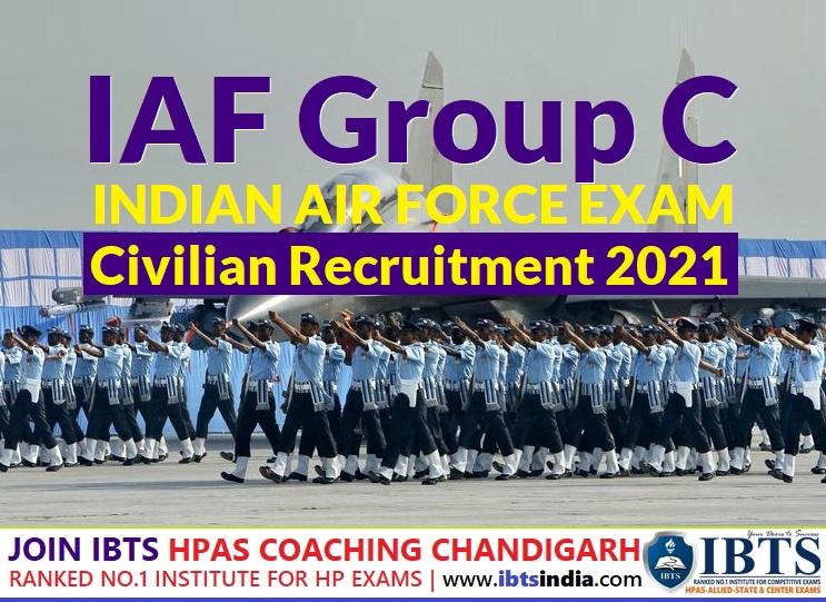 IAF Group C Civilian Recruitment 2021 pdf (Apply Online Now)
