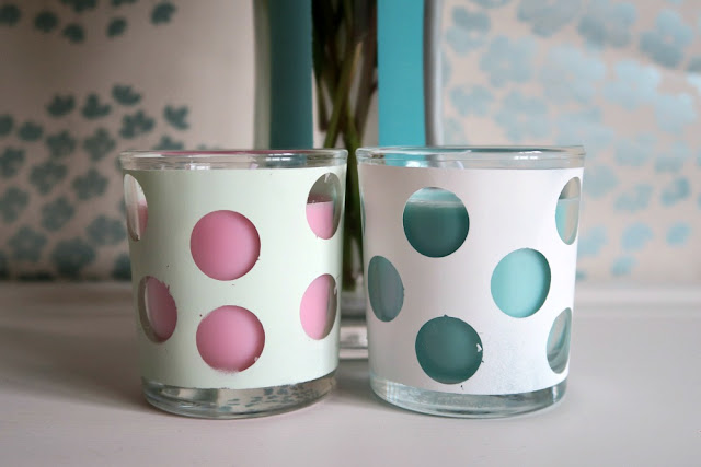Pinty Plus Chalk Paint from Novasol UK Vase and Candle Holders