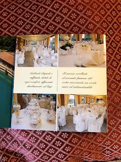 イタリアの結婚式用レストラン