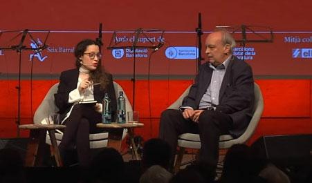 Anna María Iglasia y Enrique Vila-Matas