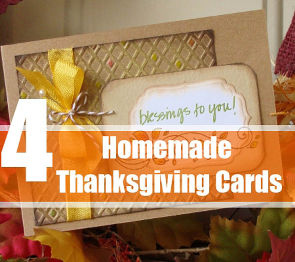 Thanksgiving cards for Handmade thanksgiving decorations