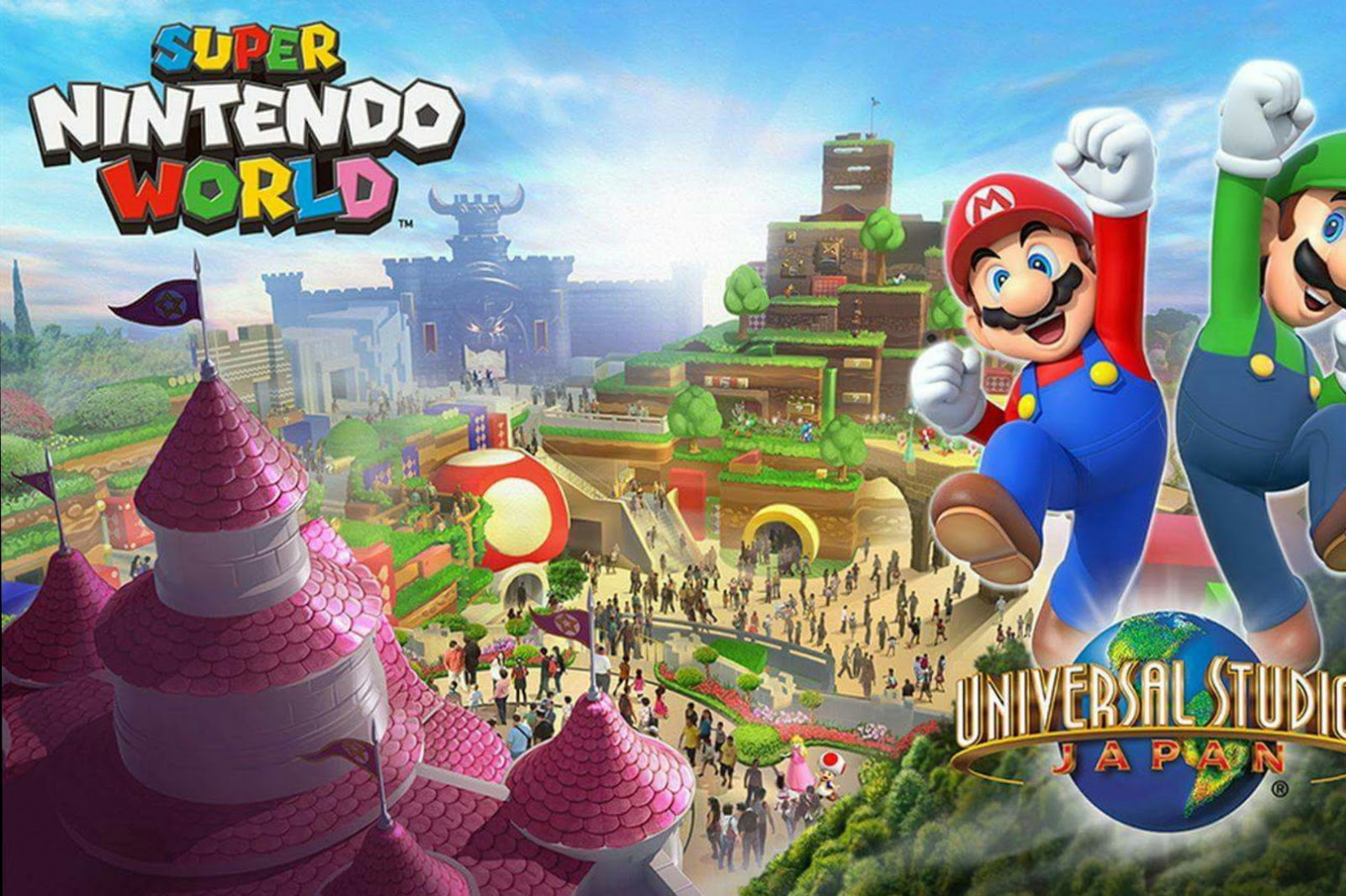 Super Nintendo World is coming to Universal Studios Japan by 2020