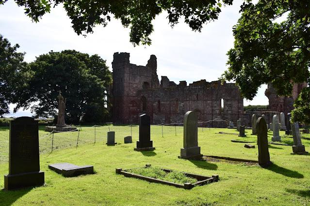 Exploring the Holy Island of Lindisfarne - Lindisfarne Priory