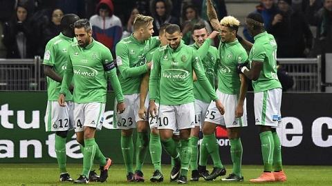 St.Etienne là một trong những đội bóng sở hữu hàng thủ vững chắc nhất mùa giải Ligue 1.