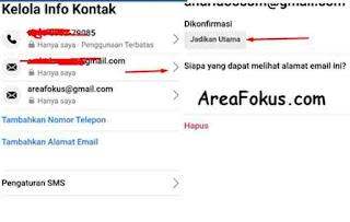 Cara Mengganti Email FB
