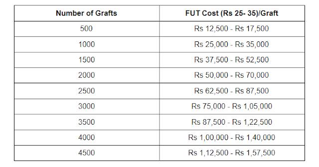 FUT Hair Transplant Cost