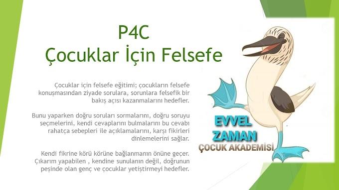 P4C Çocuk Düşünce Atölyesi Faaliyeti