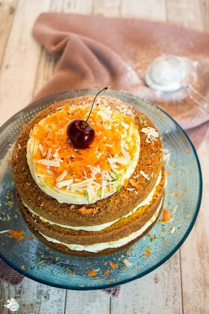 Sommermuffins mit Karotte und Limette