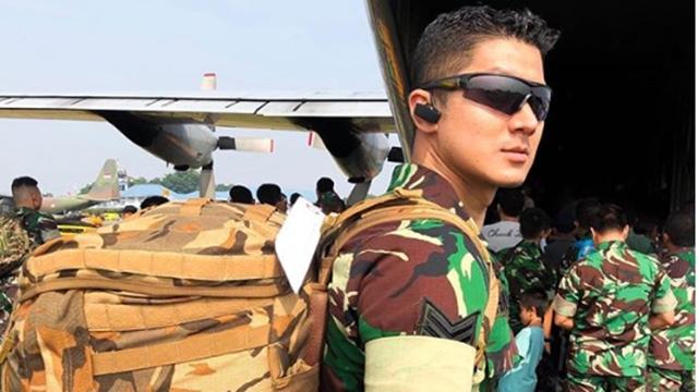 Dhuha Yuu Al Fatih, Prajurit TNI AU yang Gantengnya Kelewatan