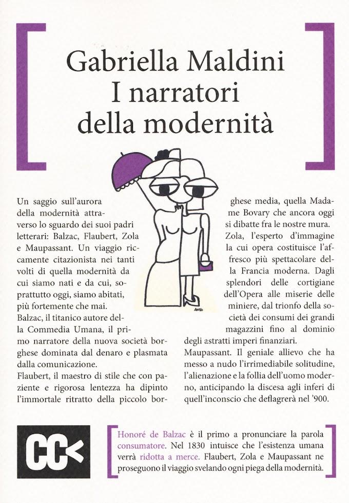 Gabriella Maldini presenta 'I narratori della modernità'