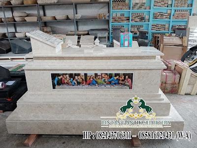 Makam Marmer Berkwalitas, Makam Batu Marmer Kristen, Spesialist Membuat Aneka Model Makam Marmer