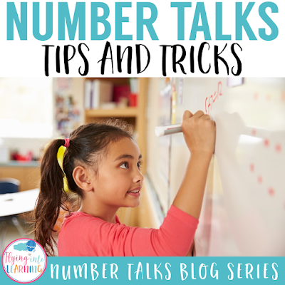 Number Talks: 8 Tips and Tricks to better Number Talks!