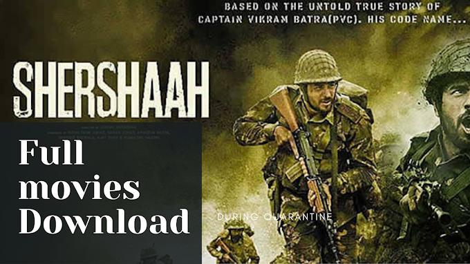 Shershaah Full Movie Download 480p, 720p, 1080p, Filmyzilla, Movierulz, Filmywap, Tamilrockers