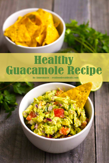 Healthy Guacamole Recipe for Healthy Family
