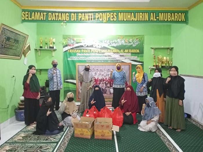 Komunitas Suzuki Katana Jimny Indonesia Lampung Adakan Baksos dan Bagi Sembako di Jati Agung
