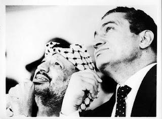 hosni mubarak and yassir arafat