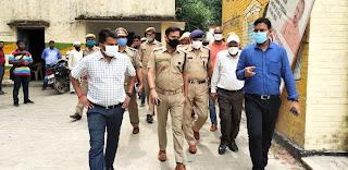 #JaunpurLive : डीएम व एसपी ने चुनाव की तैयारियों का लिया जायजा
