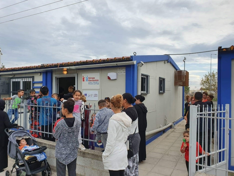 Εμβολιάστηκαν παιδιά από το Παράρτημα Ρομά του Κέντρου Κοινότητας του Δήμου Τυρνάβου
