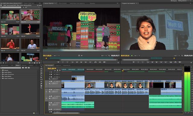 salah satu software terbaik untuk edit video di pc dan laptop adalah Adobe Premiere Pro dan software yang sering digunakan oleh youtuber untuk edit video