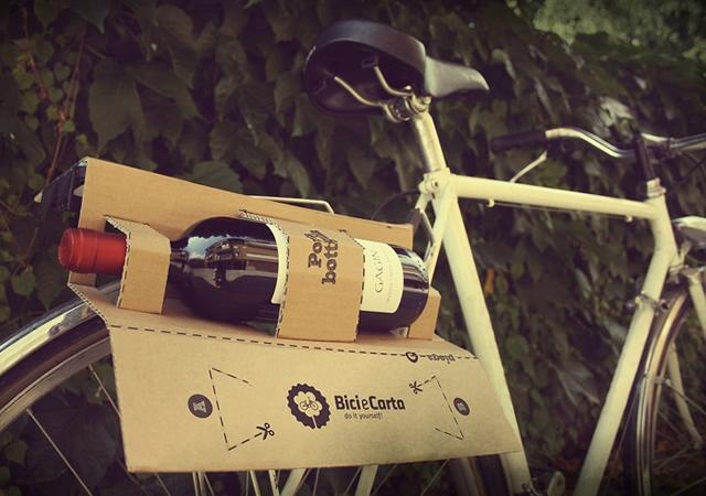 Como hacer un Portabotellas para Bicicleta