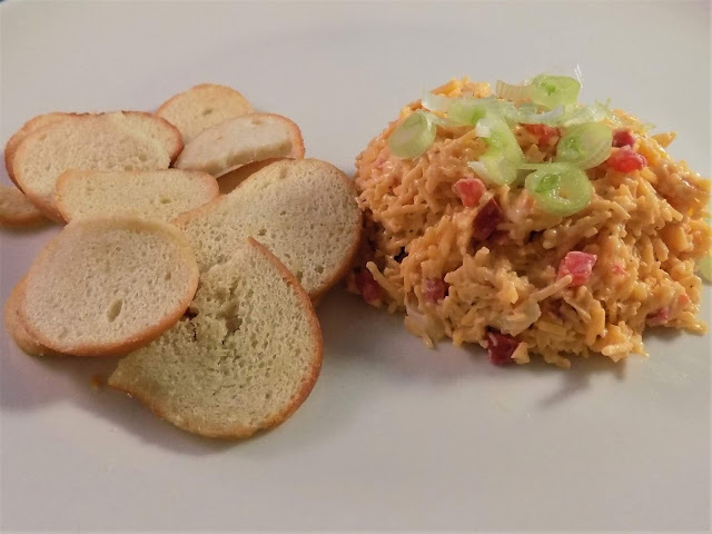 A picture of Homemade Pimento cheese spread