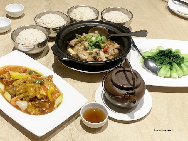 Mid Autumn Family Set Review @ Purple Cane Tea Cuisine