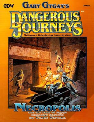 Dangerous Journeys Necropolis