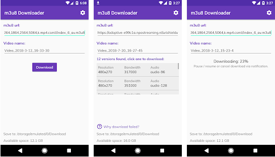 m3u8 Video Downloader 0 9 90 Apk Ad Free - link