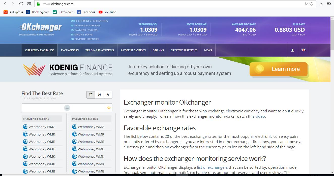 3 Best dollar Exchange Site Where You May Earn Money By