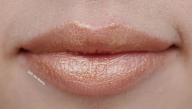 dior holiday makeup 2016 3.2 lipstick swatch golden