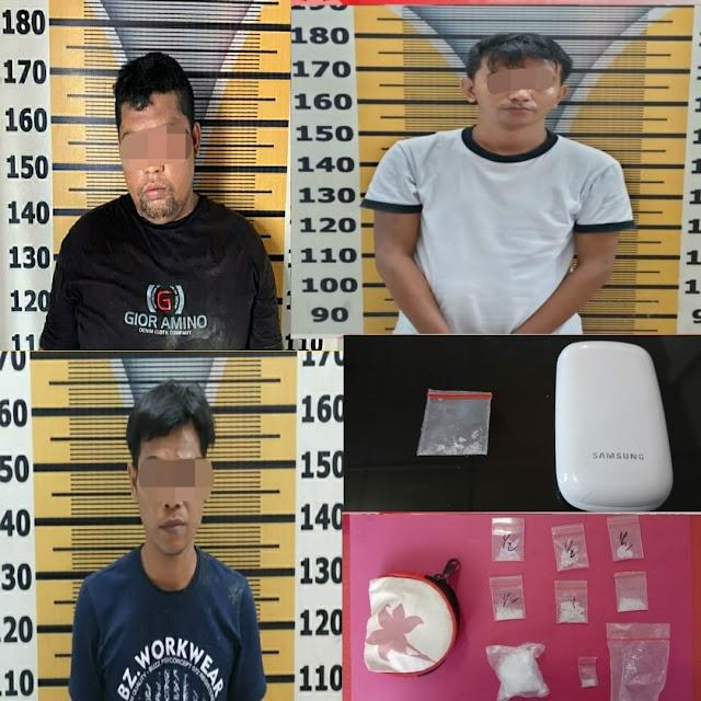 Sindikat Pemain Narkoba, 6 Pelaku Diringkus Tim Rajawali Bersinar di 2 Tempat Berbeda