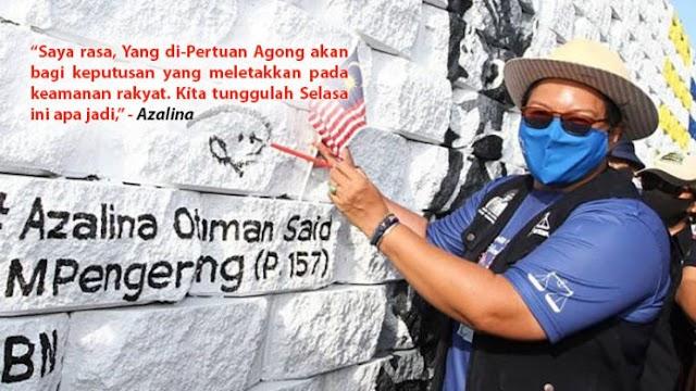 Perkenan Anwar menghadap: Azalina yakin YDP Agong seorang yang bijak dan waras