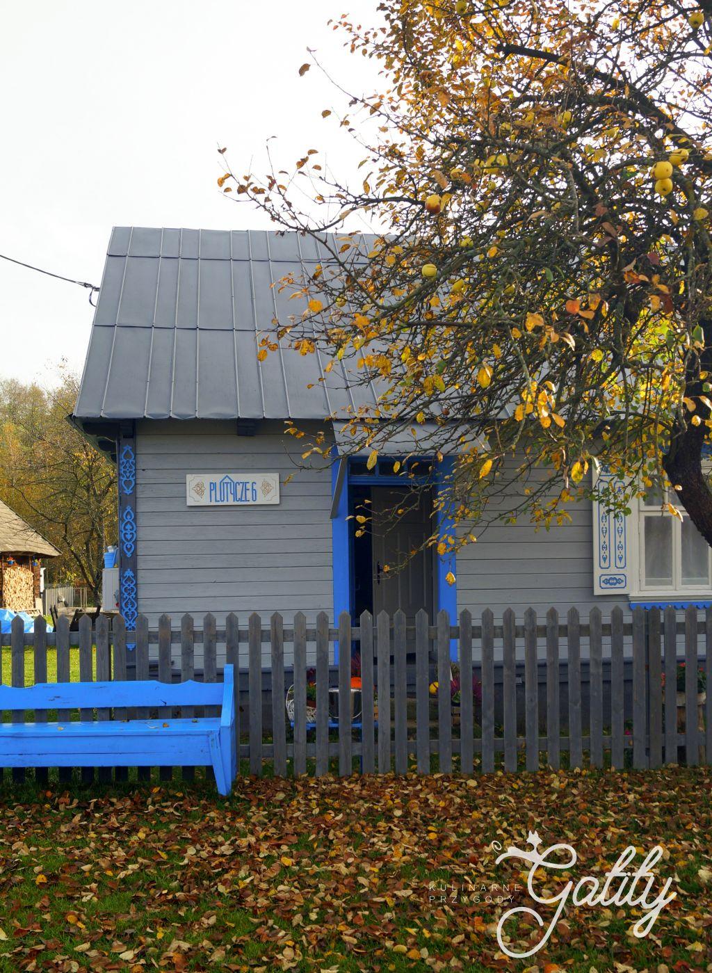 drewniany-niebieski-domek