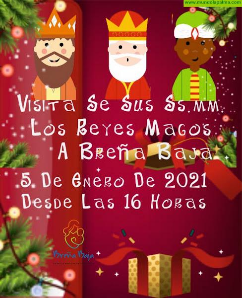 NAVIDAD BREÑA BAJA: itinerario de los Reyes Magos