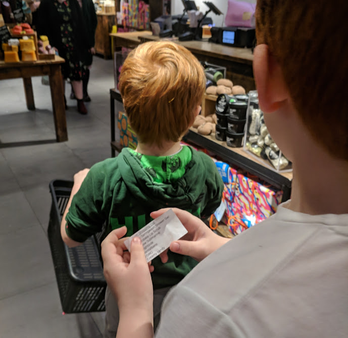 Lush Newcastle |  Children's Birthday Party Review  - supermarket sweep