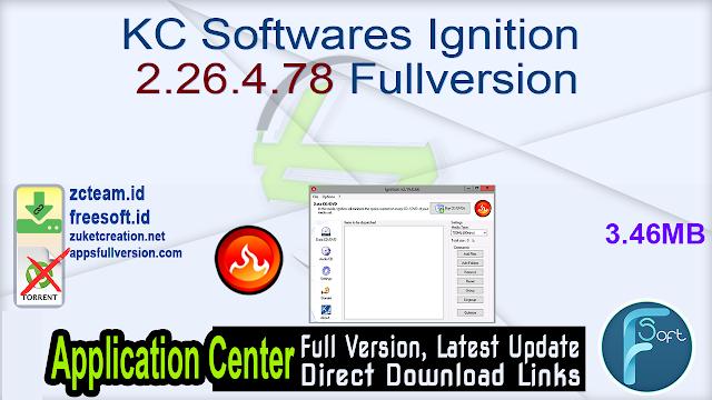 KC Softwares Ignition 2.26.4.78 Fullversion