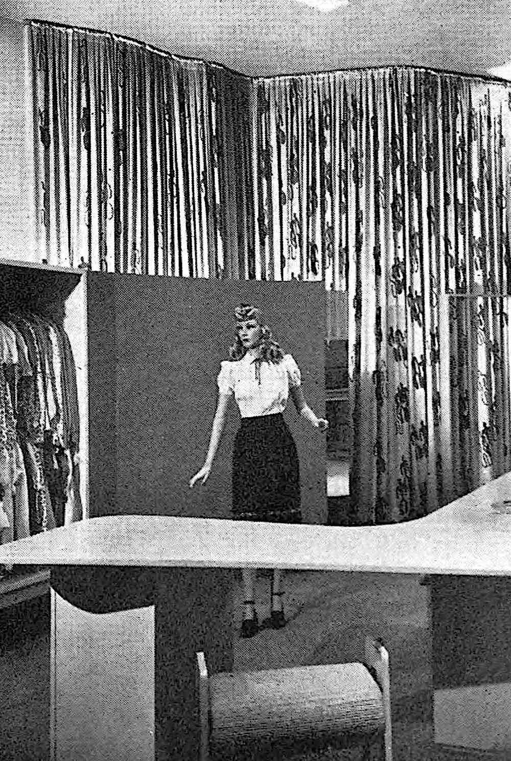 1945 store mannequin odd photograph