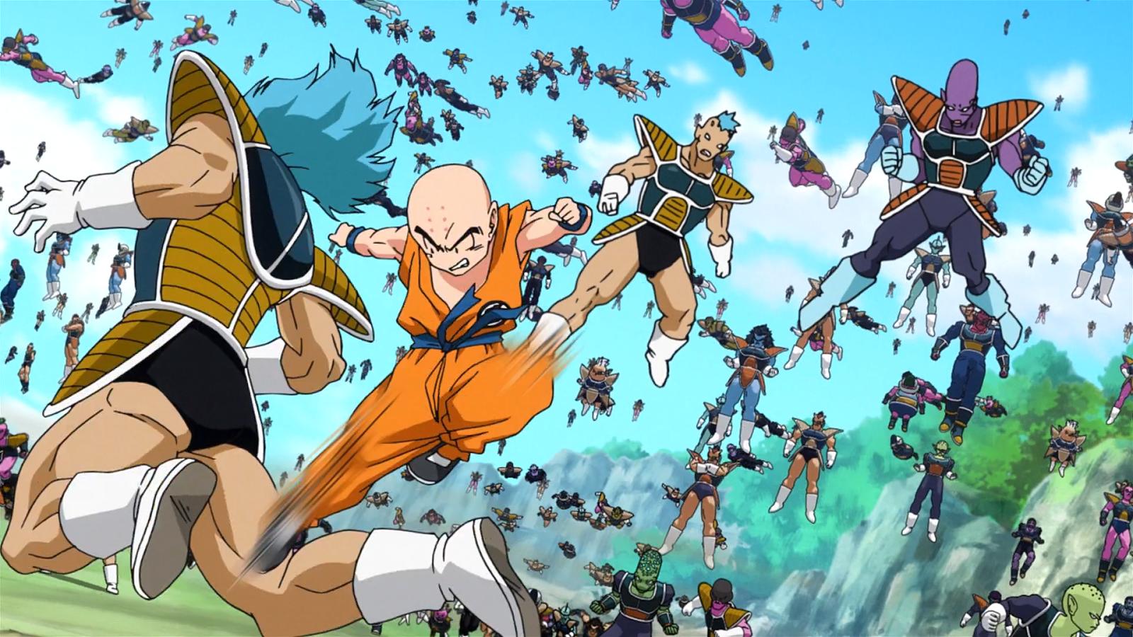 Cartoon Dragon Ball Super